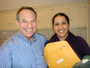 Congressman Bob Filner & Kyra Randall & Our Ticket's to the Show
