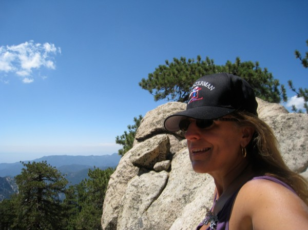 On Top of Mount Waterman August 2009