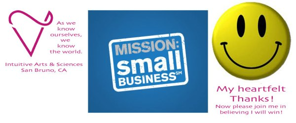 Intuitive Arts & Sciences is in the MIssion Small Business Grant Contest
